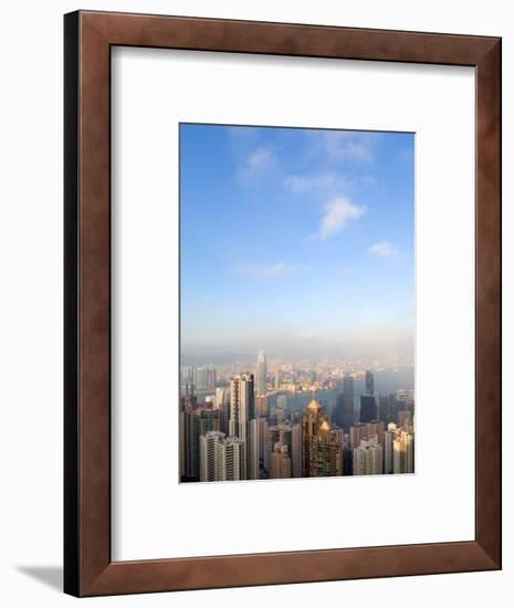 China cityscape-Sung-Il Kim-Framed Photographic Print