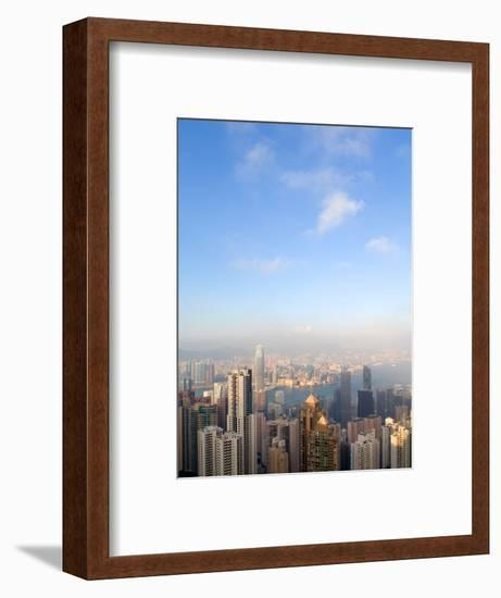 China cityscape-Sung-Il Kim-Framed Photographic Print
