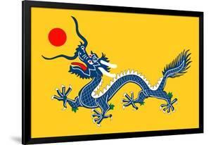 China: Five-clawed Dragon Flag of the Qing Dynasty (1890-1912)