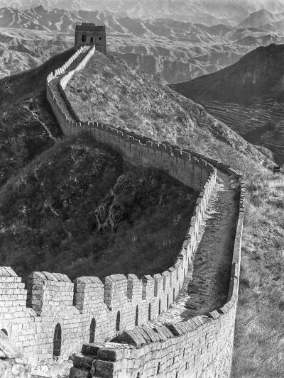 China, Great Wall-John Ford-Photographic Print