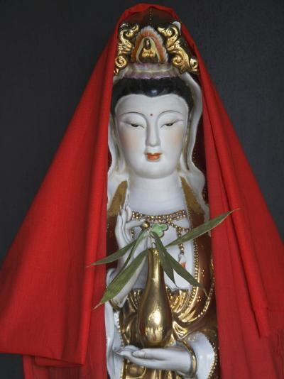 China, Guizhou Province, Statue of Guanyin (Goddess of Mercy)-Keren Su-Photographic Print