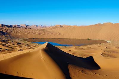 China, Inner Mongolia, Badain Jaran Desert, Gobi Desert-Tuul And Bruno Morandi-Photographic Print
