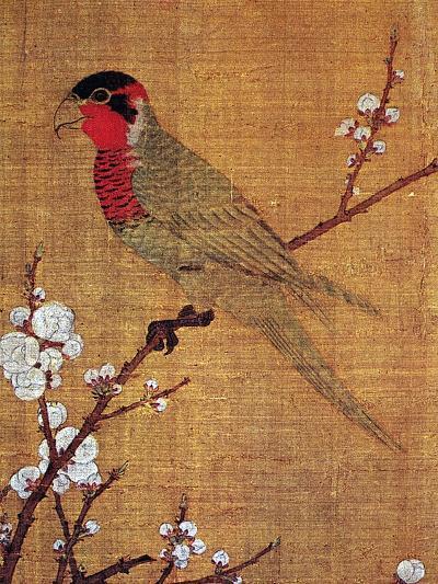 China: Parakeet-Emperor Hui-tsung-Giclee Print