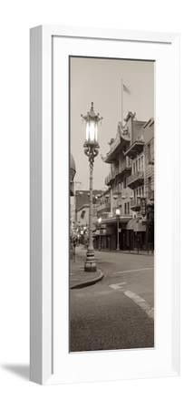 China Town Pano #2-Alan Blaustein-Framed Photographic Print