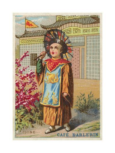 China--Giclee Print