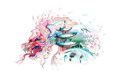 China-okalinichenko-Art Print