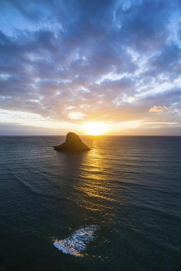Chinamans Hat Sunrise-Cameron Brooks-Photographic Print