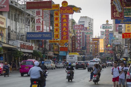 Chinatown, Bangkok, Thailand, Southeast Asia, Asia-Frank Fell-Photographic Print