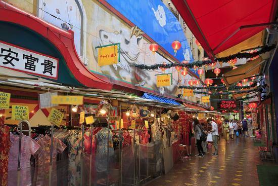 Chinatown, Yokohama, Honshu Island, Japan, Asia-Richard Cummins-Photographic Print