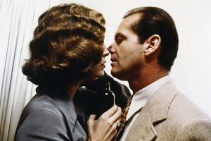 CHINATOXN, 1974 directed by ROMAN POLANSKI Faye Dunaway and Jack Nicholson (photo)