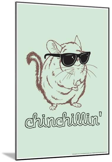Chinchillin'-Snorg Tees-Mounted Print