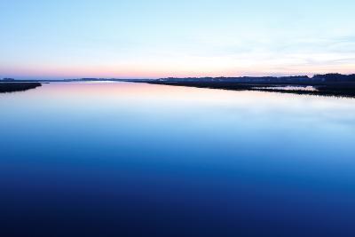 Chincoteague National Wildlife Refuge after Sunset, Virginia, Usa.-Jay Yuan-Photographic Print