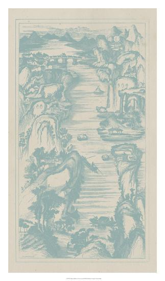 Chinese Bird's-eye View in Spa II-Vision Studio-Giclee Print