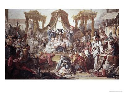 Chinese Curio: Audience of the Chinese Emperor-Francois Boucher-Giclee Print
