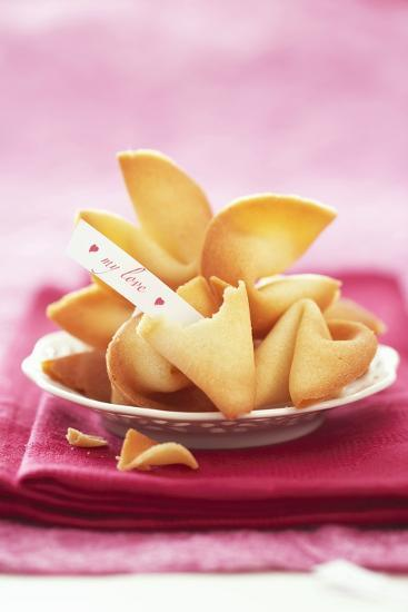 Chinese Fortune Cookies with Motto-Marc O^ Finley-Photographic Print