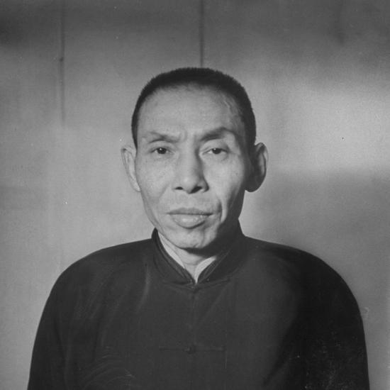 Chinese Gangster Tu Yueh-Sen--Photographic Print