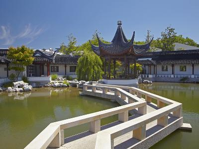 Chinese Gardens, Dunedin, Otago, South Island, New Zealand-David Wall-Photographic Print