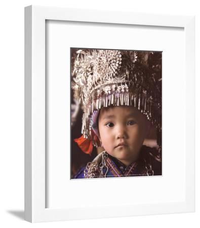 Chinese Girl-Nevada Wier-Framed Art Print