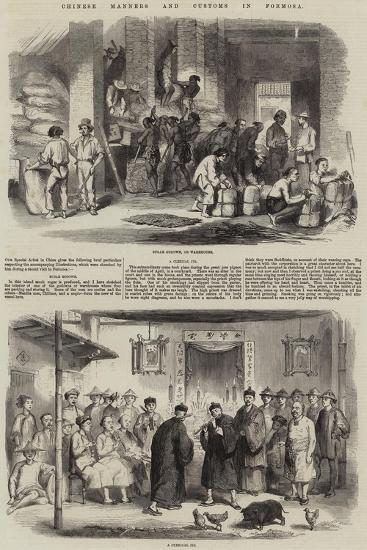 Chinese Manners and Customs in Formosa--Giclee Print