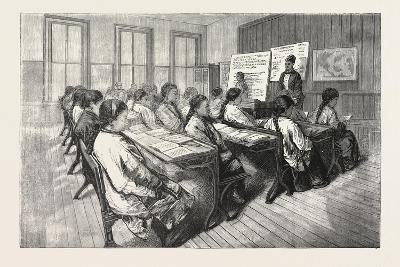 Chinese Mission School, San Francisco, 1876, USA, America, United States--Giclee Print