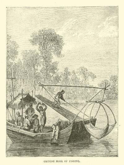 Chinese Mode of Fishing--Giclee Print