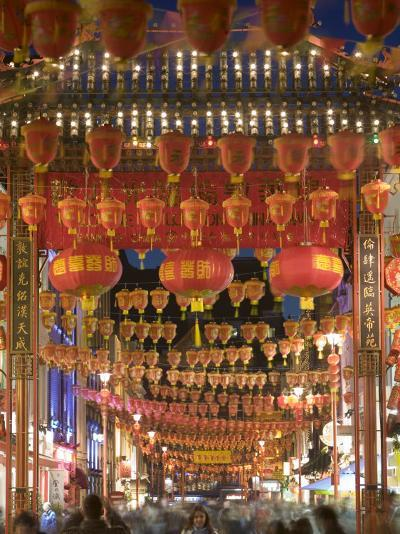 Chinese New Year, China Town, London, England-Doug Pearson-Photographic Print
