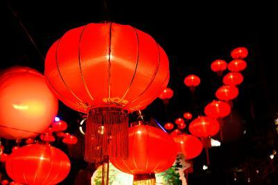 Chinese New Year Festival-bunyarit-Photographic Print