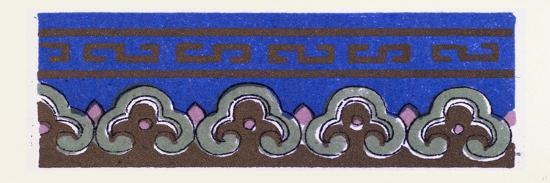 Chinese Ornament--Giclee Print