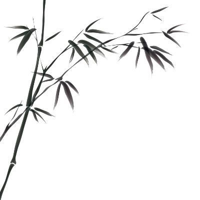 Chinese Painting Of Bamboo-bluesee-Art Print