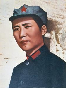 Mao Zedong in Northern Shensi, 1936 by Chinese Photographer