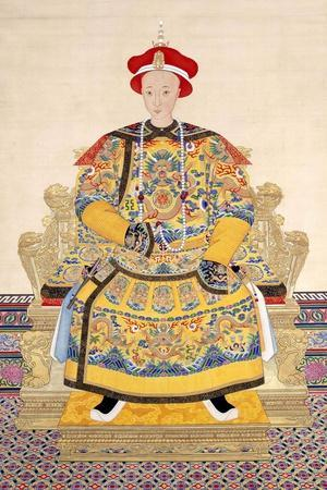 Emperor Tongzhi (1856 - 1875), His Temple Name was Muzong