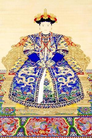 Empress Jing Xian (c.1681-1731), 1st consort of Emperor Yongzheng (1678 - 1735)