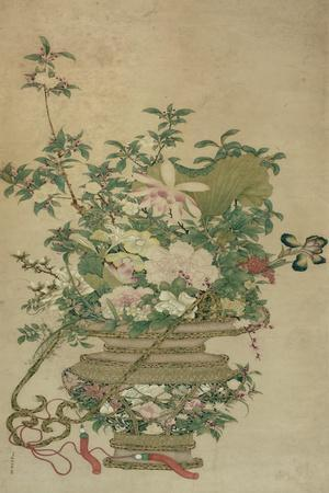 Flowers of the Four Seasons, Qing dynasty, 18th-19th century
