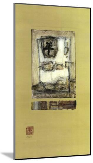 Chinese Series, Peace I-Mauro-Mounted Print