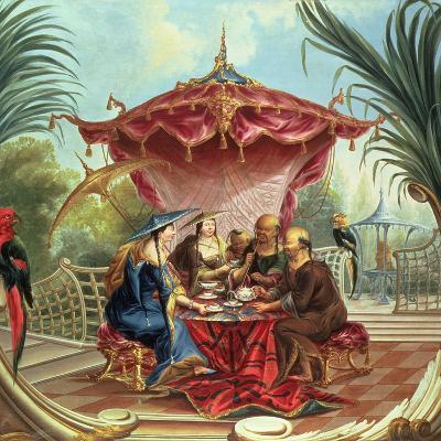 Chinese Tea-Jacques Vigoureux Duplessis-Giclee Print
