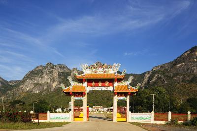 Chinese Temple, Khao San Roi Yot National Park, Prachuap Kiri Khan, Thailand, Southeast Asia, Asia-Christian Kober-Photographic Print