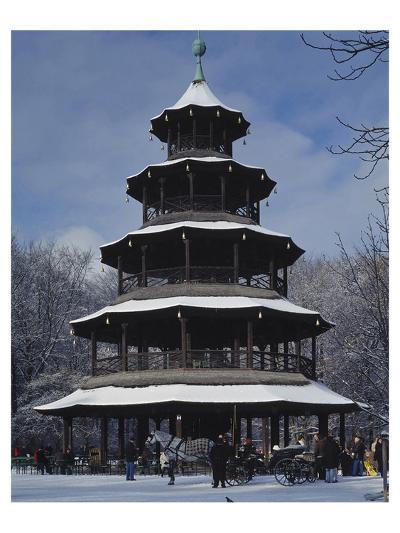 Chinese Tower Munich Germany--Art Print