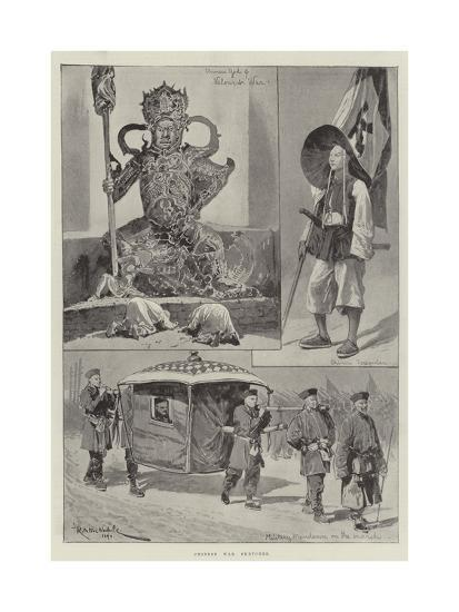 Chinese War Sketches-Richard Caton Woodville II-Giclee Print