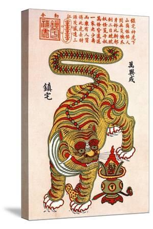 Chinese Zodiac Sign of the Tiger