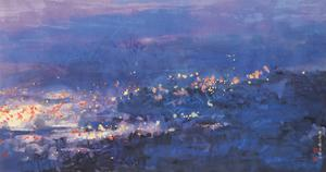 Elapsing Night by Chingkuen Chen