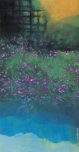 Purple Bellflowers by Chingkuen Chen