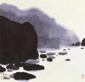 Rocky Brook by Chingkuen Chen