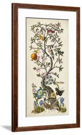 Chinoiserie Natura I-Naomi McCavitt-Framed Giclee Print