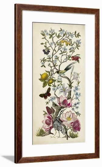 Chinoiserie Natura II-Naomi McCavitt-Framed Giclee Print