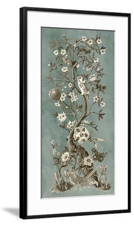 Chinoiserie Patina I-Naomi McCavitt-Framed Giclee Print