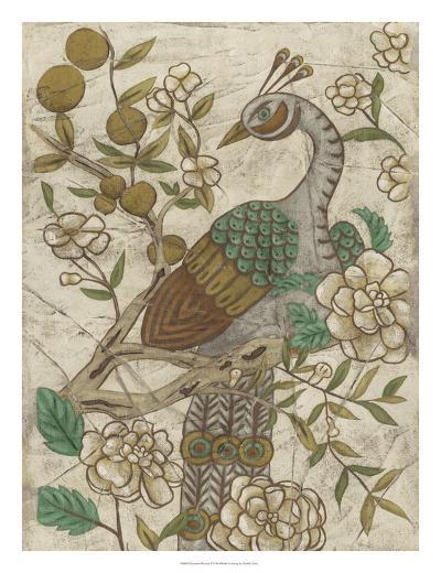 Chinoiserie Pheasant II-Chariklia Zarris-Giclee Print