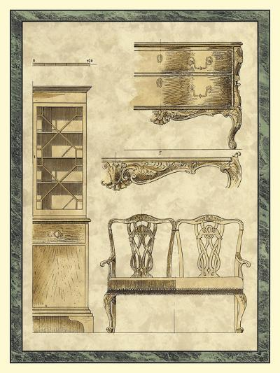 Chippendale Furniture I-Vision Studio-Art Print
