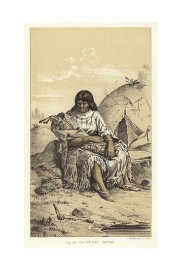 Chippeway Widow--Giclee Print