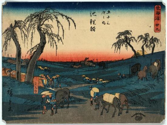 Chiryu-Utagawa Hiroshige-Giclee Print