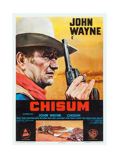 Chisum, 1970--Art Print